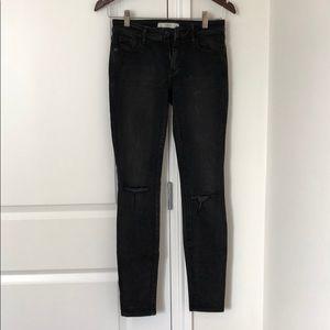 Abercrombie & Fitch Women's Black Skinny Jeans